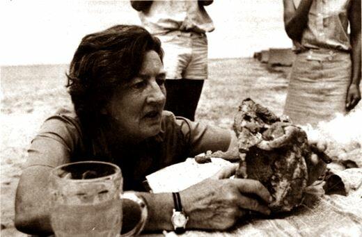 Мэри Лики. Юбилей легенды антропологии. Фотографии