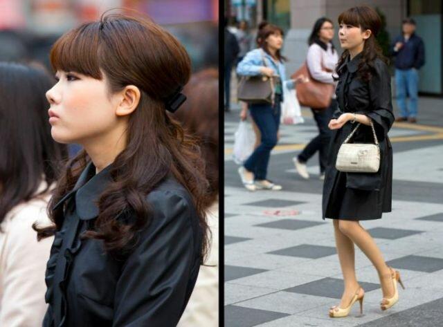 Фотографии: красивые японские девушки на улицах Токио. Фотографии