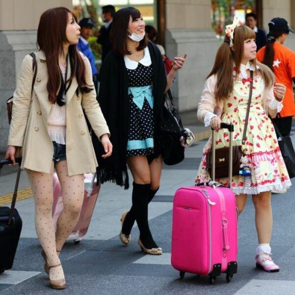 Подборка красивых японских девушек фото 534-493