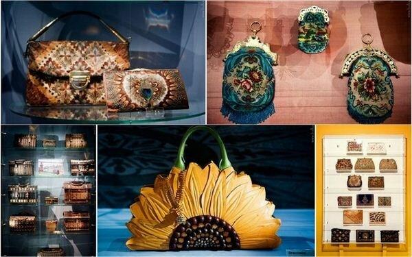 Музей дамских сумочек и кошельков. Фотографии