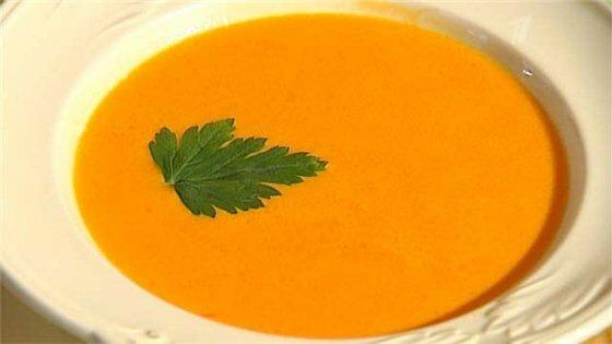 Крем суп из сладких перцев. Фотографии