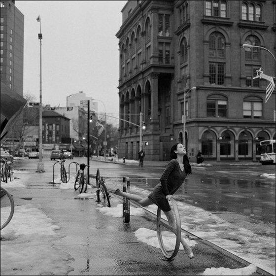 Балерины Нью Йорка. Фотографии