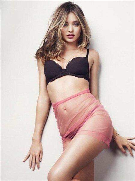 Самая сексуальная женщина мира Миранда Керр в журнале Esquire UK